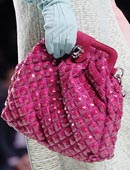 9. сумки 2008 - Модные принты: цветы и полоска! фото: roberto cavalli...