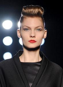 Модные причёски осень зима 2009 2010
