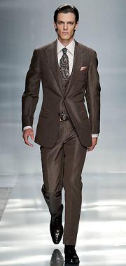 Мужской костюм: тенденции 2009-2010. ERMENEGILDO