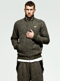 Harris Tweed Scotland для adidas Originals